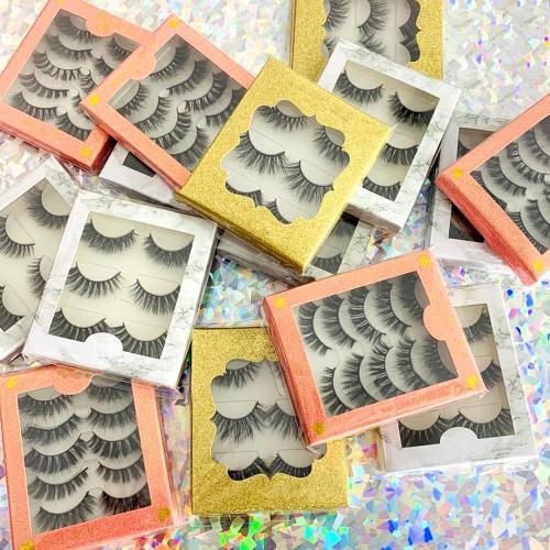 3D G800 5 pairs best eyelash 3d soft false eyelashes best eyelashes false Real 3d mink fur