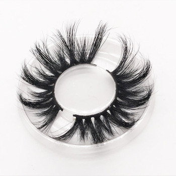 Wholesale customization eshinee mink lashes  25mm MINK eyelashes Your Own Logo Eyelash Box
