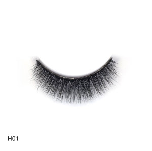 Eshinee 5 pack lashes 3d human lashes mink eyelashes 3d eye lashes custom for false eyelash