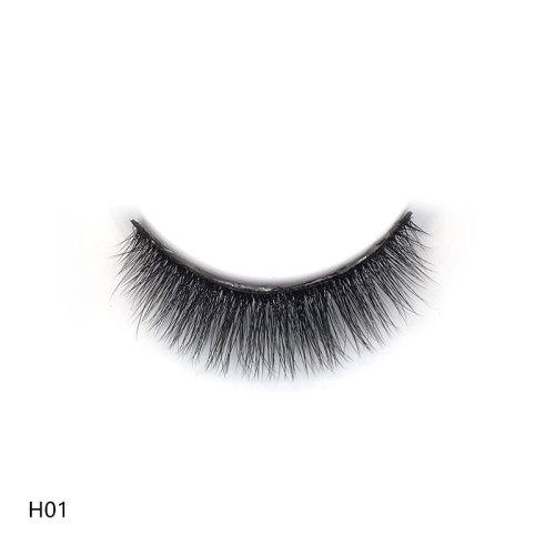 Eshinee 5 pack lashes 3d human lashes mink eyelashes 3d eye lashes custom for false eyelash