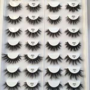 EShinee wholesale 3d mink lashes custom eyelashes package