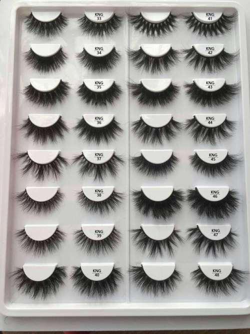 EShinee wholesale 3d mink lashes custom eyelashes package