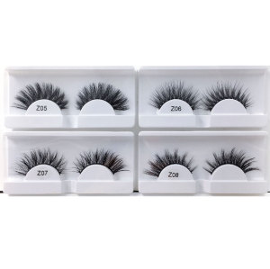 Drivworld 3d human mink eyelashes 3d eye lashes custom for false eyelash