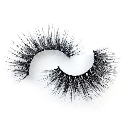 Drivworld 3d human mink eyelashes 3d eye lashes custom for false eyelash