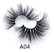 Wholesale customization eshinee A  STYLE  mink lashes  Synthetic  eyelashes Your Own Logo Eyelash Box