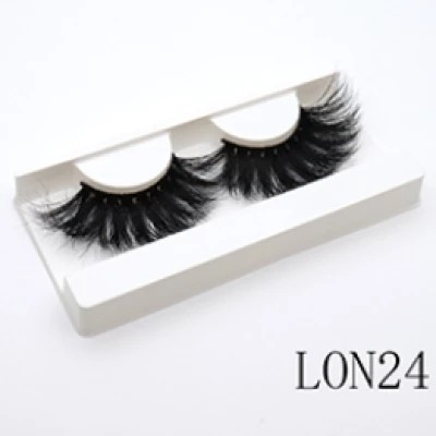 LON 24 wholesale customization eshinee lashes luggage box 25mm 3D  mink lashes mini suitcase eyelash box