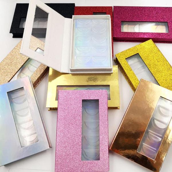 Wholesale  eshinee   5 pairs of false eyelash storage box