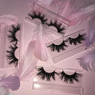Wholesale customization eshinee lashes luggage box 25mm 3D  mink lashes mini suitcase eyelash box