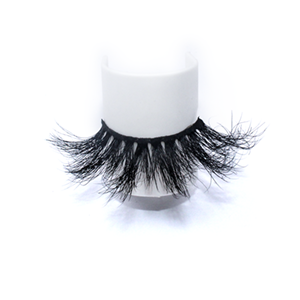 Wholesale 3D 45A Style  Best Eyelashes 3D Soft Qingdao Mink Eyelahes Box With Your Own Logo