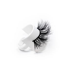 Wholesale 5D 752 Style  Best Eyelashes 5D Soft Qingdao Mink Eyelahes Box With Your Own Logo
