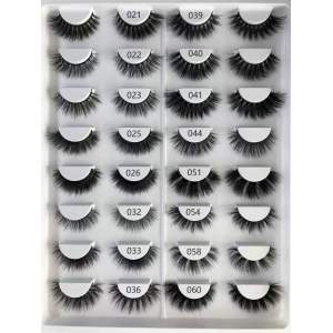 Wholesale customization Drivworld Makeup mink lashes 3d eyelashes 3d mink lashes With Custom Packaging Your Own Logo Eyelash Box