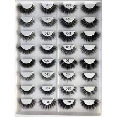 Wholesale customization Drivworld Makeup mink lashes 3d eyelashes 3d mink lashes With Custom Packaging Your Own Logo Eyelash Box