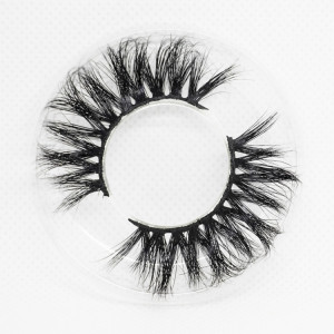 Wholesale customization Drivworld Makeup mink lashes 22mm - 25mm 100% mink eyelashes 3d lashes With Custom Packaging Your Own Logo Eyelash Box