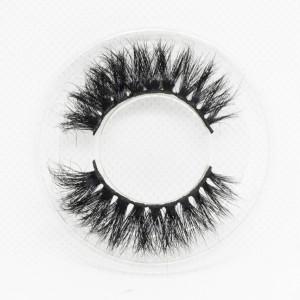 Wholesale customization Drivworld Makeup mink lashes 15mm - 20mm 100% mink eyelashes 3d lashes With Custom Packaging Your Own Logo Eyelash Box