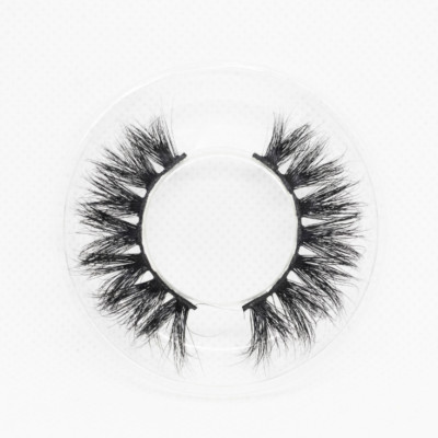 Wholesale customization Drivworld Makeup KNG23 mink lashes 15mm - 20mm Dramatic eyelashes 3d mink lashes With Custom Packaging Your Own Logo Eyelash Box