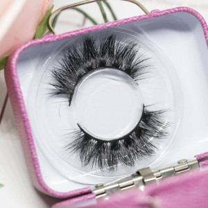 Wholesale customization Drivworld Makeup KNG26 mink lashes  Dramatic eyelashes 15mm - 20mm 3d mink lashes With Custom Packaging Your Own Logo Eyelash Box