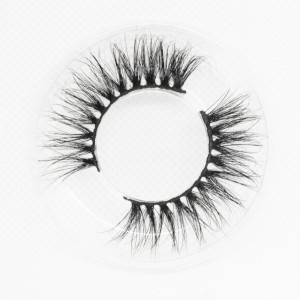 Wholesale customization Drivworld Makeup KNG41 mink lashes  Dramatic eyelashes 15mm - 20mm 3d mink lashes With Custom Packaging Your Own Logo Eyelash Box