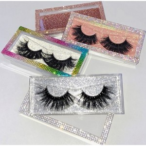 Wholesale Customization Box mink lashes Box  Custom Packaging with Your Own Logo Eyelash Box