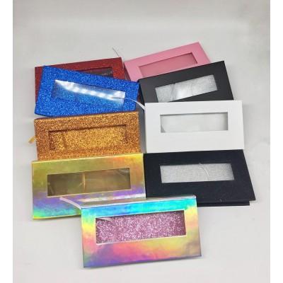 Wholesale Customization Box mink lashes Box  Custom Packaging with Your Own Logo Eyelash Box
