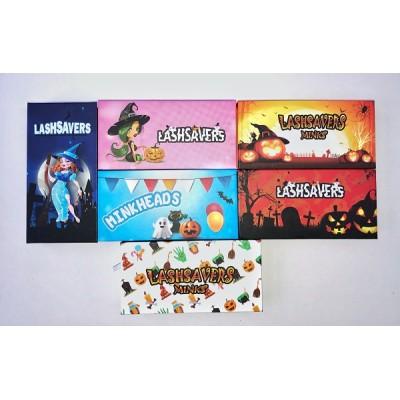 Wholesale Customization Box of lashes Custom Packaging with Your Own Logo Eyelash Box Halloween Box