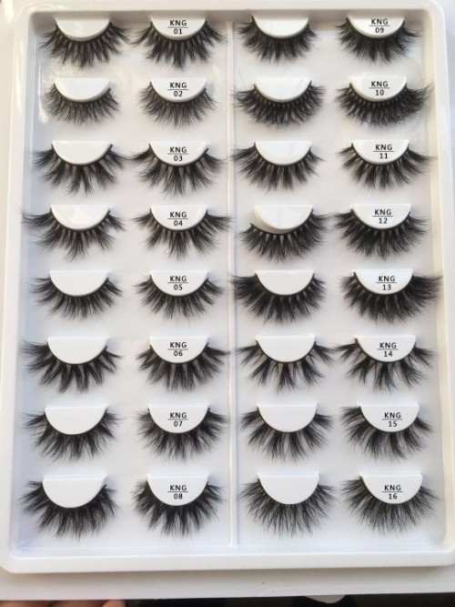 5D 25mm Premium Real Mink Lashes in Bulk with Custom mink lashes and packaging for Wholesale No MOQ