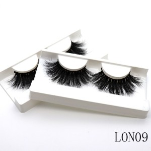 Wholesale customization  mink lashes 25 mm mink lashes Suitcase eyelashes 3d With Custom Box