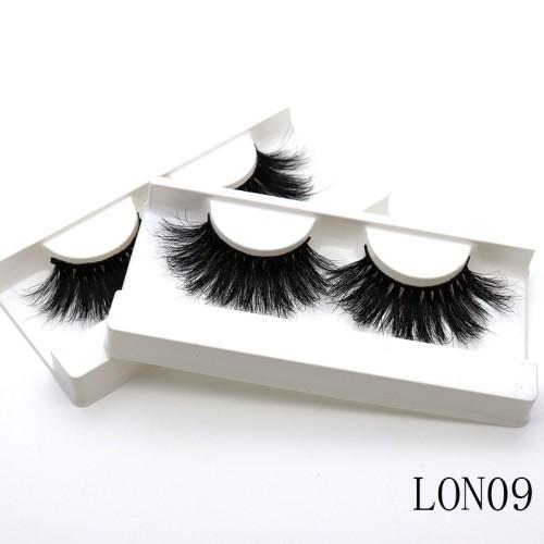 Wholesale customization  mink lashes 25 mm mink lashes Suitcase eyelashes 3d With Custom Box