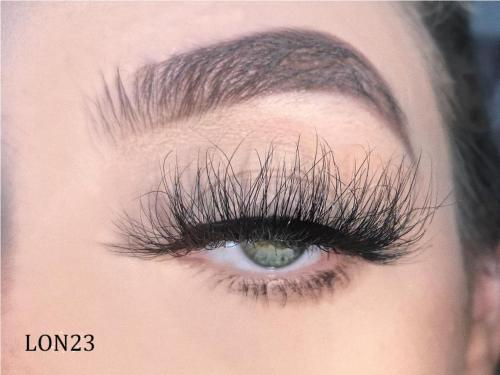 Luxury Premium Real Mink Lashes LON23 with Custom Package