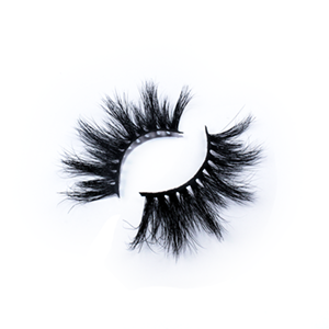 Luxury High Quality 25mm Dramatic Mink Lashes LON01 with Custom Package