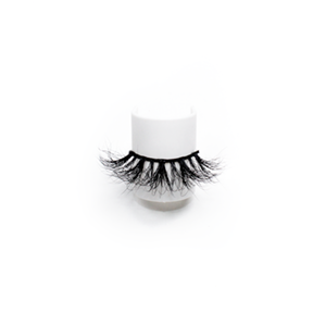 Luxury High Quality 25mm Dramatic Mink Lashes LON44 with Custom Package