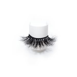 High Quality 25mm Dramatic Mink Lashes LON09 with Custom Package
