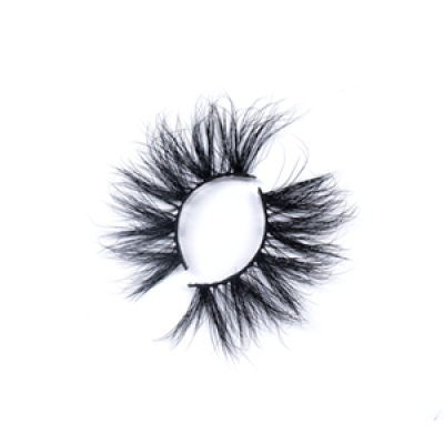 Dramatic Premium Real Mink Lashes LON24 with Custom Package