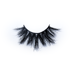 Premium Real 25mm Mink Lashes LON21 with Custom Package