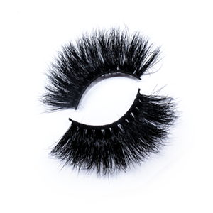 High Quality 25mm Mink Lashes LON10 with Custom Package