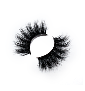 High Quality 25mm Mink Lashes LON05 with Custom Package