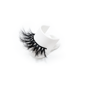 Luxury 25mm Mink Eyelashes LON17 with Private Label