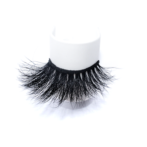 Luxury 25mm Mink Eyelashes LON33 with Private Label