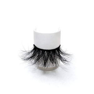 Luxurious Handmade 100% Real 25mm Mink Eyelashes LON36