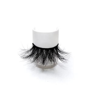 Luxurious Handmade 100% Real 25mm Mink Eyelashes LON36