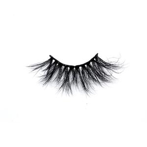 100% Handmade Real Mink Lashes Private Label Mink Eyelash LON38