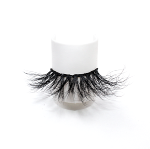 100% Handmade Real Mink Lashes Private Label Mink Eyelash LON38