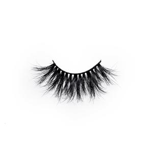 100% Handmade Real Mink Lashes Private Label Mink Eyelash LON15