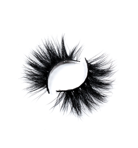 Beauty Manufacture Private Label 25mm Mink Eyelashes LON07