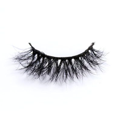 High Quality Natural Mink Eyelash S512 With Custom Package