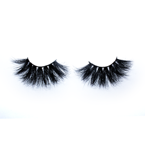 Top quality 25mm 70A style private label mink eyelash