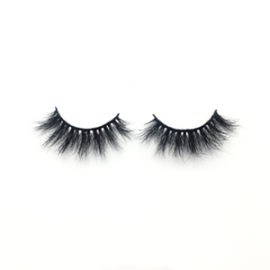 Top quality 14-18mm M186 style private label mink eyelash