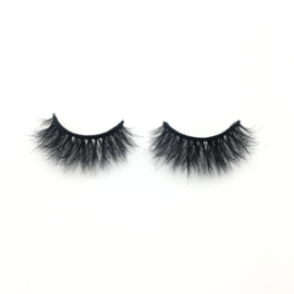 Top quality 14-18mm M604 style private label mink eyelash