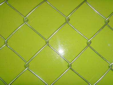 galvanized or PVC coated steel wire Chain link fence