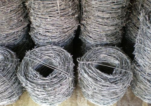 High tensile galvanized barbed   wire