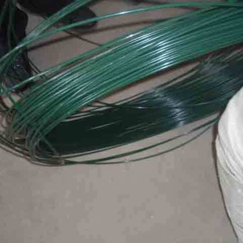 Custom color anti-corrosion high tensile pvc coated steel  wire